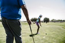 Free Shallow Focus Photography Of Woman Playing Golf Royalty Free Stock Photography - 126189217