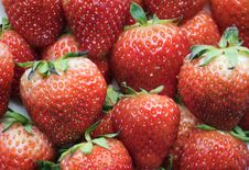 Free Fill The Frame Photography Of Red Strawberries Stock Photography - 126189322