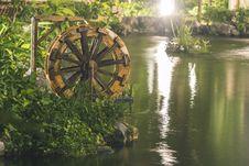 Free Brown Water Wheel Near Body Of Water Stock Photos - 126189683