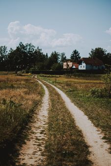 Free Photo Of Road Near Houses Royalty Free Stock Photography - 126189997