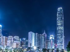 Free Lighted High-rise Buildings At Night Time Stock Photo - 126190090