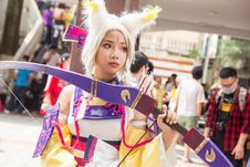 Free Woman Wearing Anime Character Costume Stock Photos - 126190333