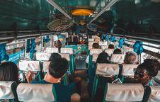 Free People Sitting Inside Bus Royalty Free Stock Photos - 126190768