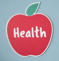 Free Honeycrisp Health Illustration Stock Photo - 126191070