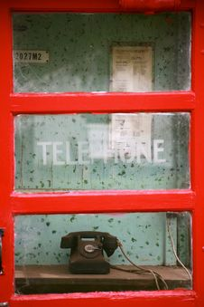 Free Telephone Booth Stock Images - 126191344