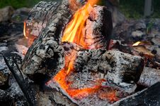 Free Wood On Fire Stock Photos - 126192513