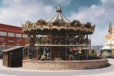 Free Carousel At The Park Stock Images - 126192734