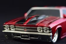 Free Red Chevrolet Chevelle Die-cast Model Stock Images - 126192844