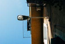 Free Gray Post Light Stock Photography - 126193512