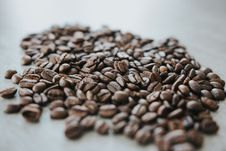 Free Coffee Beans On Brown Surface Stock Image - 126193871