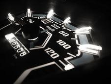 Free Closeup Photo Of Analog Speedometer Royalty Free Stock Images - 126194909