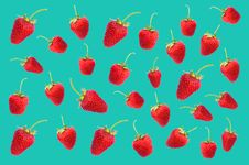 Free Red Strawberries Digital Wallpaper Royalty Free Stock Photos - 126195098
