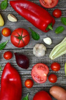 Free Variety Of Vegetables Royalty Free Stock Image - 126195166