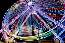Free Multicolored Ferry S Wheel During Night Time Stock Image - 126195531