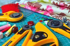 Free Yellow Measuring Tool Lot Stock Photo - 126195550