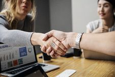 Free Close-Up Photography Of People Shaking Hands Stock Photo - 126195890