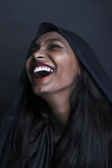 Free Woman Laughing Photo Stock Images - 126195964