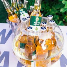 Free Close-Up Photography Of Beer Bottles On Fishbowl Royalty Free Stock Image - 126195976