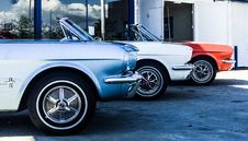 Free Red, Blue, And White Cars Royalty Free Stock Image - 126196236
