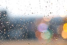 Free Close-Up Photography Of Droplets On Glass Royalty Free Stock Image - 126196486