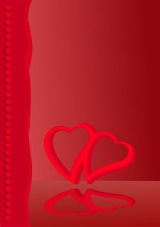 Free Valentine Card 2 Royalty Free Stock Images - 12621269