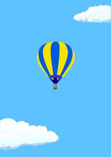 Free Hot Air Ballon Stock Image - 12621341