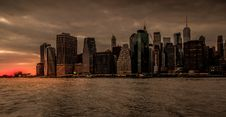 Free New York City During Sunset Stock Image - 126245731