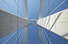Free Aerial View Of Bridge Royalty Free Stock Photo - 126245815