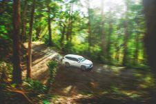 Free Photo Of White Mitsubishi Montero Sport On Dirt Road Royalty Free Stock Image - 126245846
