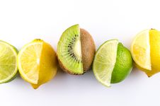 Free Variety Of Sliced Fruits Royalty Free Stock Images - 126246089