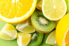 Free Photo Of Sliced Kiwi, Lemon, And Orange Fruits Royalty Free Stock Image - 126246116
