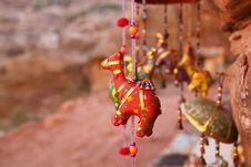 Free Petra-Souvenires Royalty Free Stock Photography - 12643197