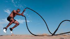 Free Photo Of Man Holding Black Rope Stock Photos - 126404753