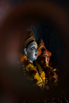 Free Hindu God Statues Royalty Free Stock Photography - 126404937