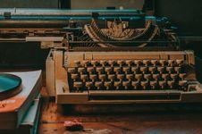 Free Close-Up Photo Of Vintage Typewriter Royalty Free Stock Image - 126543786