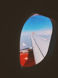 Free Airplane Wing Royalty Free Stock Image - 126543826
