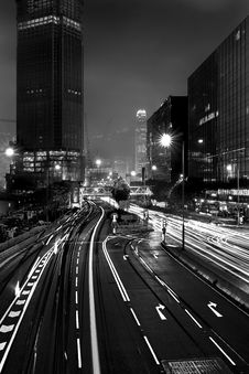 Free Time Lapsed Photography Of Street And Buildings Royalty Free Stock Image - 126727546