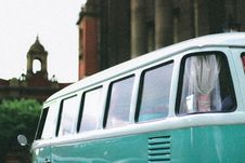 Free Green And White Cab Stock Images - 126727654