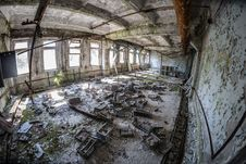 Free Photo Of Abandoned Building Interior Stock Photography - 126807902