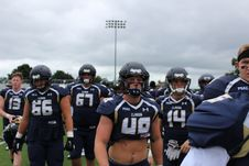 Free Photo Of Football Players Under Cloudy Sky Royalty Free Stock Photography - 126807937