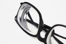 Free Black Framed Eyeglasses Royalty Free Stock Photo - 126898485