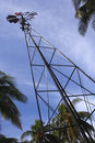 Free Tropical Wind-pump Stock Photography - 1270232