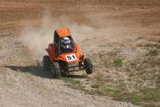 Free Young Racer Stock Image - 1270401