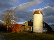Free Barn, Carlisle, Massachusetts Stock Photography - 1270662