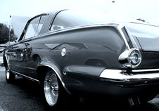 Black Classic Car Stock Photos
