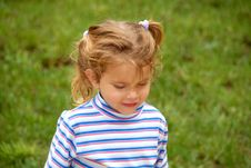 Free Walking With PigTails Stock Image - 1271671