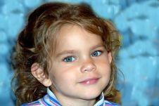 Free Cute Girl Royalty Free Stock Image - 1271696
