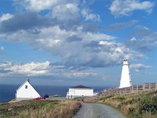 Free Lighthouse And Clouds Royalty Free Stock Images - 1271779