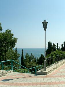 Free Pathway To Sea Stock Photo - 1272440