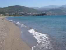 Free Greek Beach Royalty Free Stock Images - 1272859